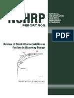 Nchrp Report 505