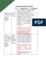 CUADRO DE CATEGORIAS INCIALES DE TRABAJO