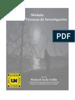 modulo y tecnicas de investigacion
