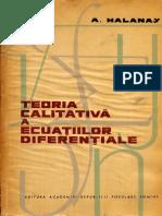 Teoria calitativa a ecuatiilor diferentiale - Aristide Halanay.pdf
