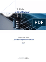 OSP Cybersecurity Audit