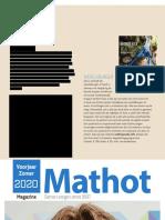 Esther Jacobs's 'Handboek voor wereldburgers' in de rubriek 'Reistips en Tricks' van Mathot Magazine