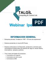 Aplicaciones para automatizar un sistema de riego TALGIL - 23.04.2020