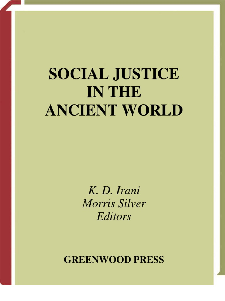 Social Justice In The Ancient World K D Irani Morris Silver Ed Id Series Residual Current Circuit Breaker 2 Poleid 4 Pole Jurisprudence Natural Law