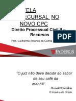 TUTELA RECURSAL NO NCPC - ATUALIZADO