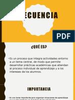 Presentación SECUENCIA DIDÁCTICA