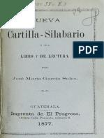 NUEVA CARTILLA JOSE MARIA GARCIA