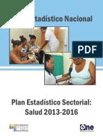 Plan Estadístico Sectorial, sector salud.pdf