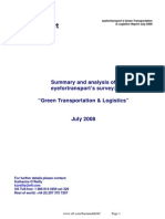 Eye for Transport Report