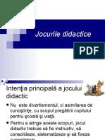6.Jocurile didactice