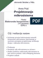 PROJEKTOVANJE MIKROSISTEMA1-2014
