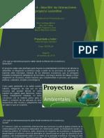 Informe ejecutivo Interacciones del proyecto sostenible