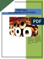 Marketing mix Of Tata Steels