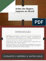 Línguas estrangeiras no Brasil