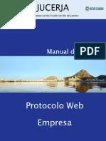 JUCERJA - Manual de Protocolo Web para Empresa