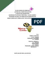 PROYECTO DE MASAS IDEANA