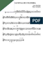 Himno de Colombia SGS - Clarinet in Bb 2