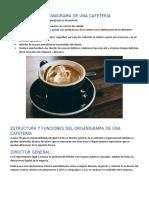 OBJETIVOS DEL ORGANIGRAMA DE UNA CAFETERÍA