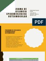 PROGRAMA DE VIGILANCIA EPIDEMIOLOGICA OSTEOMUCULAR