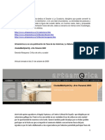 arteamerica, gerardo mosquera, pdf