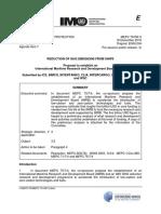 MEPC 75-INF.5 - Proposal to establish an International Maritime Research and Development Board (IMRB) (ICS, BIMCO, INTERTANKO, C...)