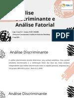 FEA - Análise Discriminante e Fatorial.pdf