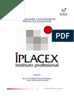 Formulación y Evaluacion de Proyectos educativos