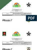 INFORMES DE PRODUCCION