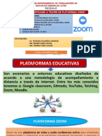 Clases Virtuales a Traves de Plataforma Zoom