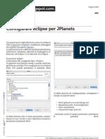 Configurare Eclipse per Jplanets