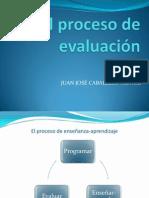 40- El proceso de evaluación