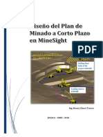 Manual de Planeamiento a Corto Plazo Con MineSight