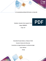 Paso 3– Identificar el conocimiento profesional del docente y su desarrollo-Alexandra Angarita