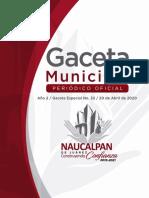 Gaceta Especial Naucalpan