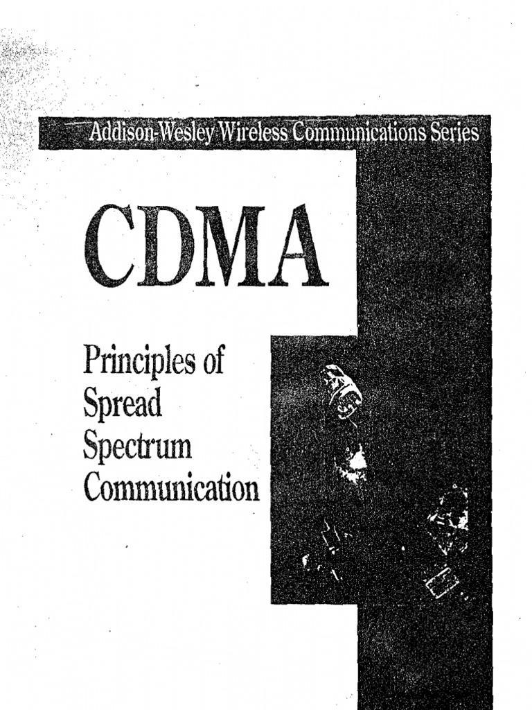 Cdma principles of spread spectrum communication fandeluxe Images