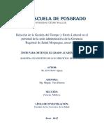 Relación de la Gestión del Tiempo y Estrés Laboral - FLORES APAZA.pdf