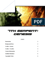 7th Serpent Genesis - Manual