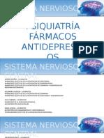 SNC PSIQUIATRIA ANTIDEPRESIVOS