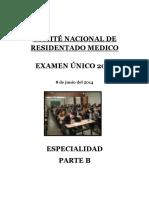 RESIDENTADO 2014