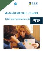 Managementul Clasei_ghid Pentru Profesori Si Invatatori