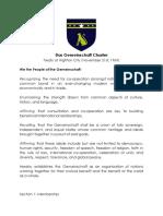 Das Gemeinschaft Charter
