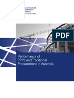 Performance of PPPs in Australia
