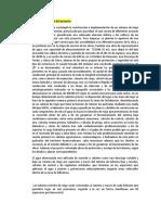 Descripción técnica del proyecto RIEGO TECNIFICADO