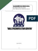 Manual Procediminetos de Terapia Respiratoria