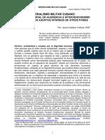 IMPERIALISMO MILITAR CUBANO - EL INTERVENCIONISMO DE LA DICTADURA EN LOS ASUNTOS INTERNOS DE OTRAS NACIONES - JESÚS CALDERA YNFANTE, PhD