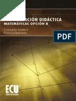 Programacion didactica. 4o ESO_ - Gallent, Conrado; Barbero, Patr