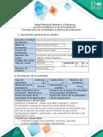 Guía de actividades y rúbrica cualitativa de evaluación - Fase 2 - Reconocimiento del Entorno