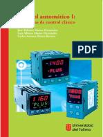 Control automático I estrategias de control clásico