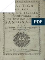 Izquierdo, Sebastián - Práctica de los Exercicios Espirituales