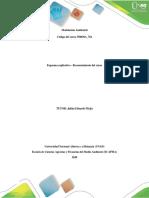 MODELACION HIDRICA - CALIDAD DEL AGUA